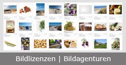 Übersicht der Bildagenturen bei denen man Bildlizenzen erwerben kann.