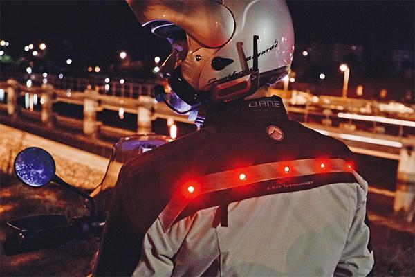 Dane LED Lynsted Motorradjacke mit Gore-Tex